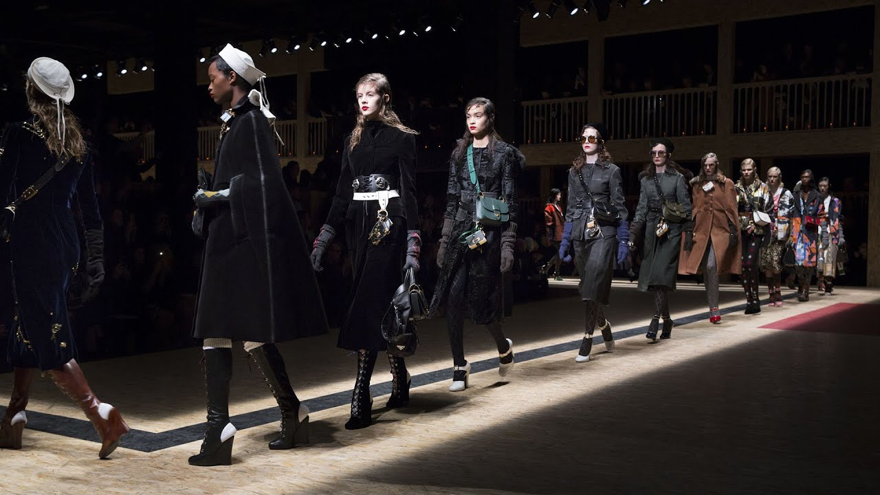 Prada Fall Winter 2016 Women's show