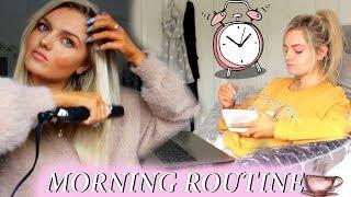 MY REALISTIC MORNING ROUTINE 2018 | Chloe Sumner
