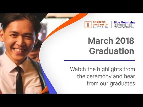 Graduation, March 2018