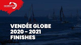 Finish Live Alan Roura Vendée Globe 2020-2021 [EN]