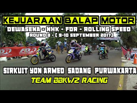 Roadrace Sadang, Purwakarta 2017