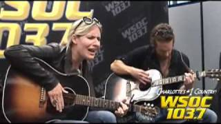 "103.7 WSOC: Holly Williams performs ""Keep the Change!"""
