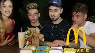 McDonald's CHALLENGE | feat marioTUBE & Mazlimaz | Manuella