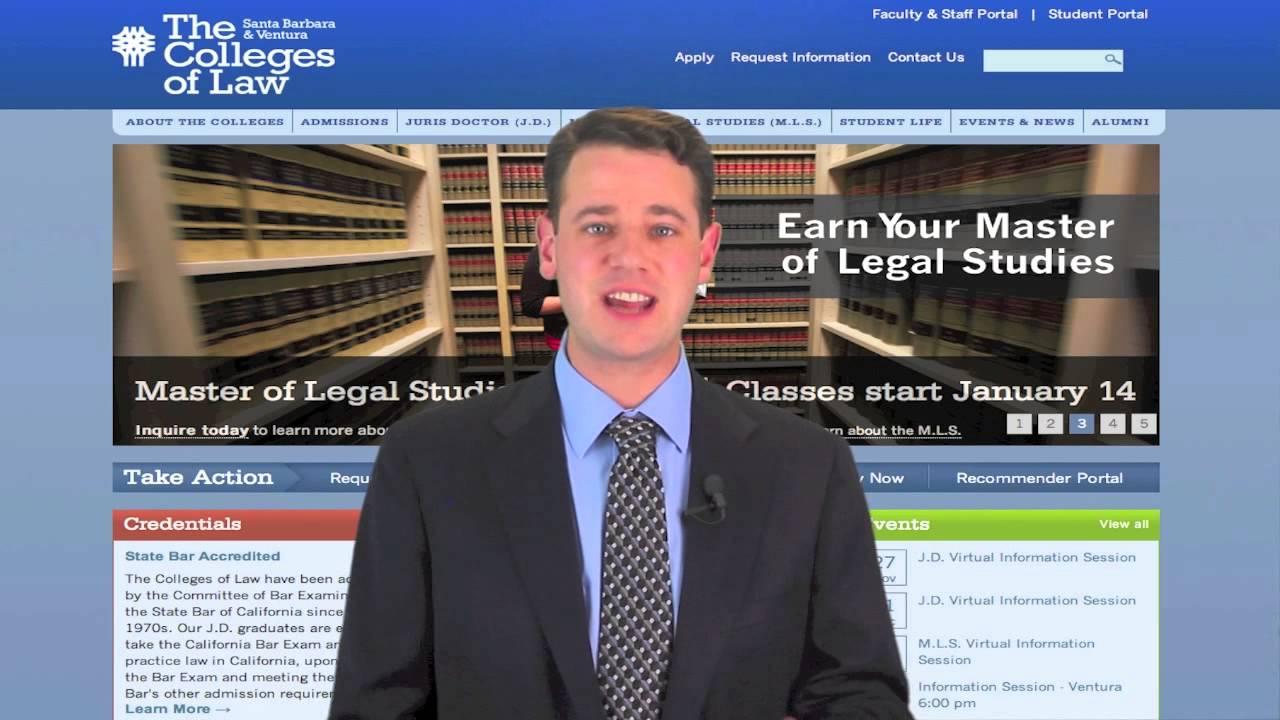 Legal Studies college now program