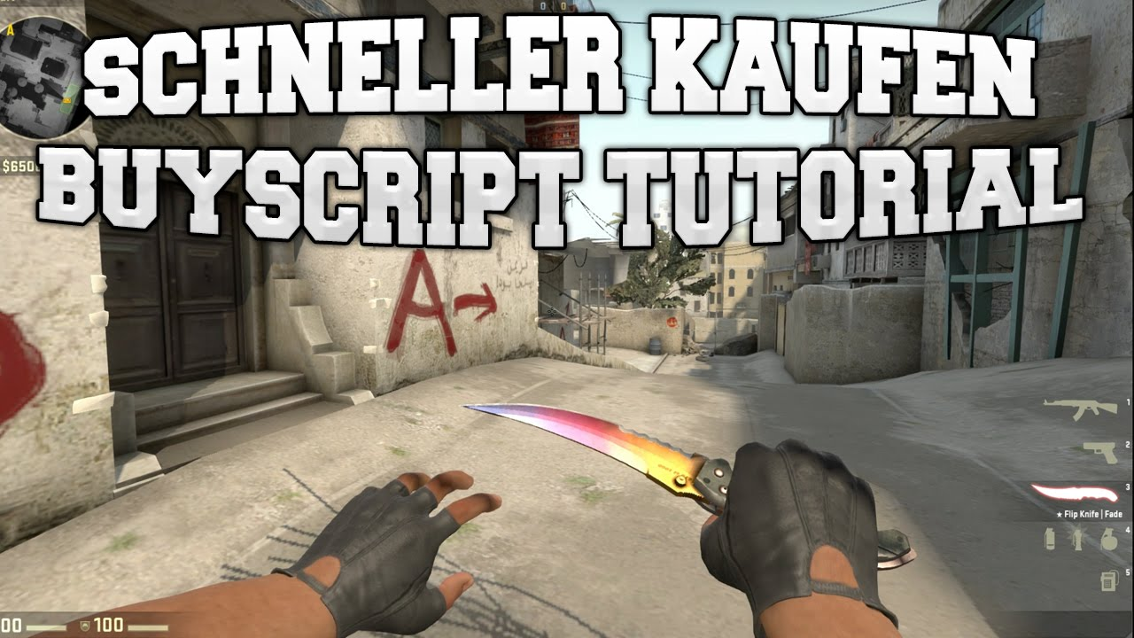 cs go schneller kaufen buyscript tutorial youtube. Black Bedroom Furniture Sets. Home Design Ideas