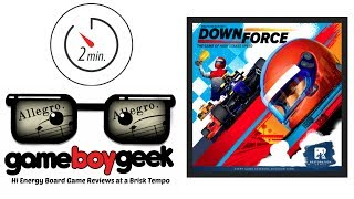 Downforce (Allegro 2-min) Review with the Game Boy Geek