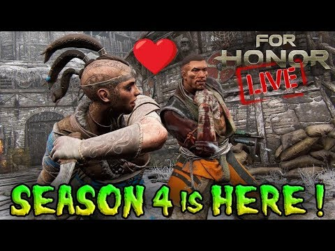Rep 2 Shaman Total Rep 200 Hype ! For Honor Season 4 is HERE