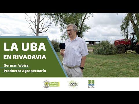 Estudiá Agronomía en Rivadavia 🌾📚 👉🏻 Germán Weiss (Productor Agropecuario)