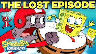 "SpongeBob ""LOST EPISODE"" in 5 Minutes!  The Sponge Who Could Fly 