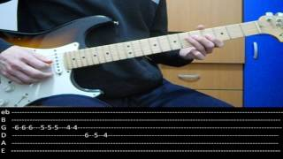 RHCP - Power of Equality (lesson w/ tabs)