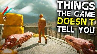 Deathloop: 10 Things Tнe Game DOESN'T TELL YOU
