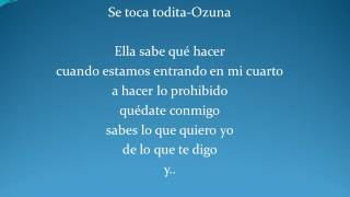 Se toca todita-Ozuna