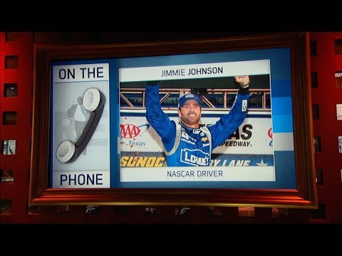 7-Time NASCAR Champ Jimmie Johnson Dials in to The Rich Eisen Show | Full Interview | 8/9/17