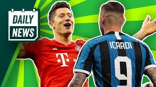 Neuer Vertrag für Timo Werner! Lewandowski bis 2023? Was macht Mauro Icardi?