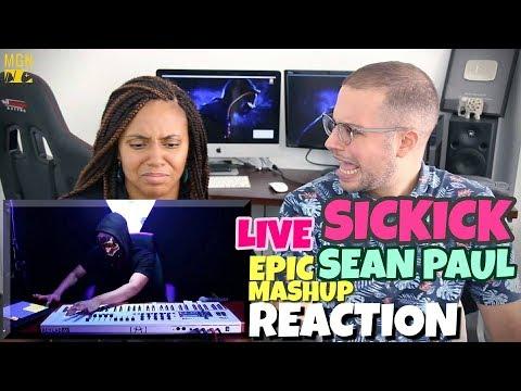 Sickick - Epic Sean Paul Mashup (Live) | REACTION