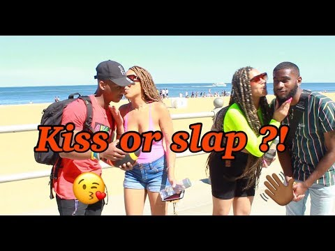 Something In The Water Beach Weekend | Public Interview | Kiss Or Slap ?