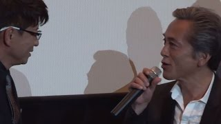 哀川翔、寺島進のボケが流せない… 映画「25 NIJYU-GO」先行上映舞台あいさつ(1)