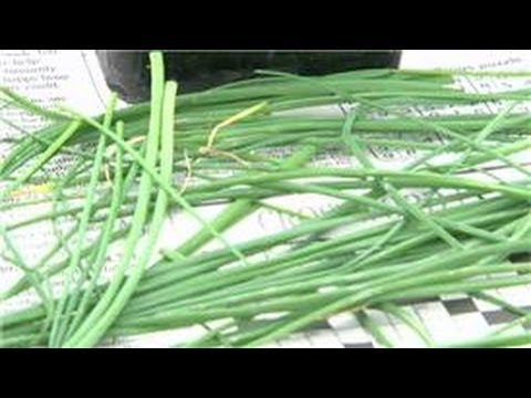 Herb Gardening : How to Cut Chives Off the Plant