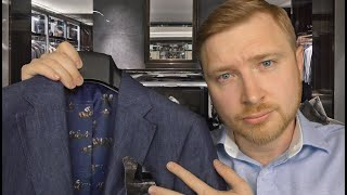ASMR - Suit Fitting Roleplay