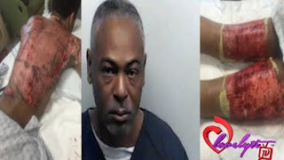 ghetto ga step father pours b0iling w ter on g y son his boyfriend in bed