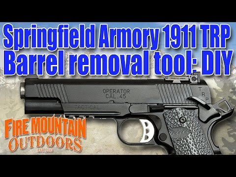 Springfield Armory 1911 Trp Operator How To Remove Your