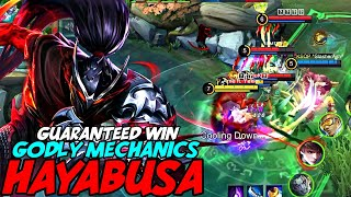 THESE HAYABUSA MECHANICS THAT CAN WIN YOU ALMOST EVERY GAME! | MOBILE LEGENDS