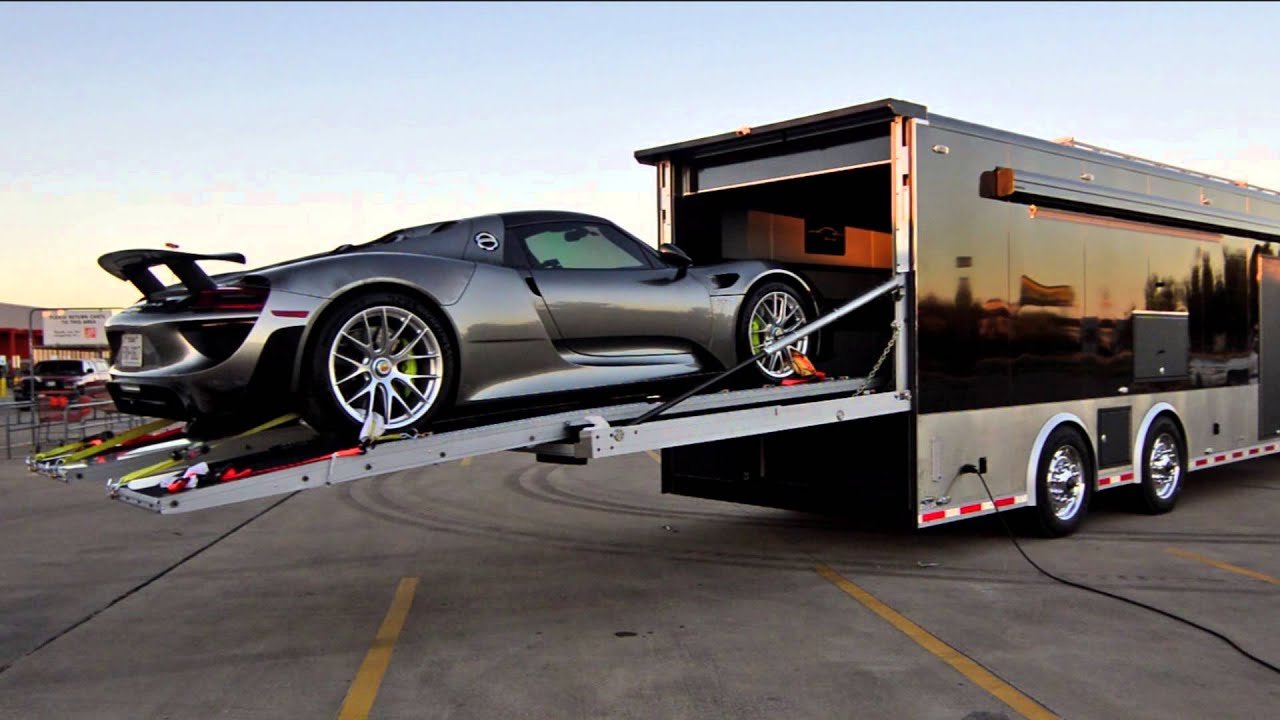 Stacker Race Car Hauler