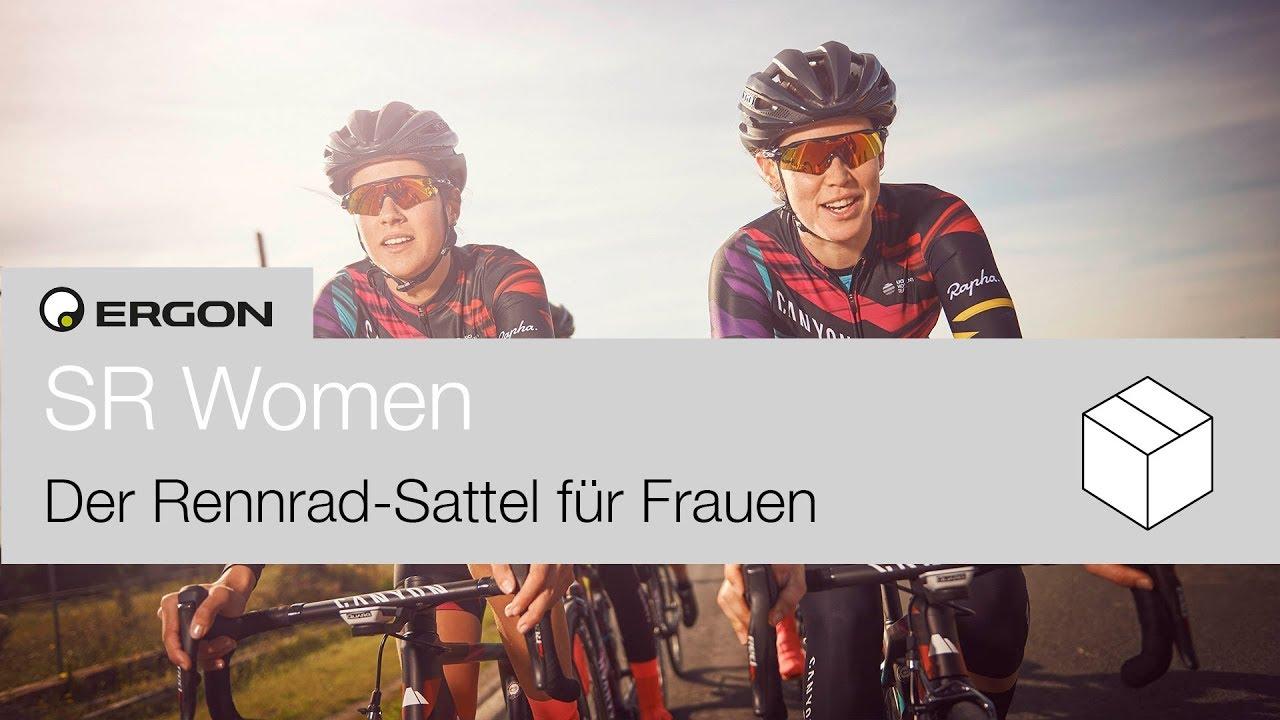 Ergon SR Women - Der Frauen Rennrad Sattel - YouTube