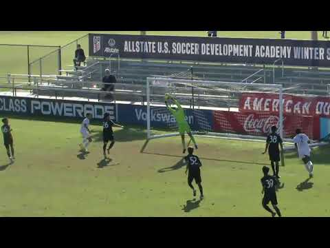 Allstate DA Winter Cup: U-16/17 - Solar Soccer Club Vs. San Jose Earthquakes