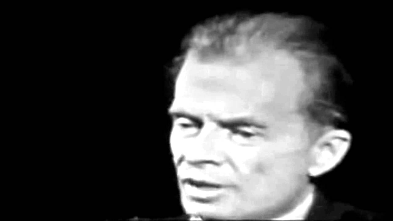 Aldous Huxley interviewed by Mike Wallace - 1958