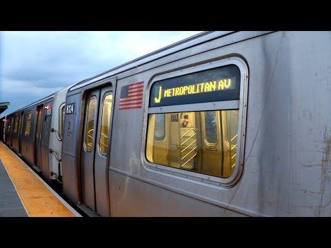 MTA New York City Subway : J Trains Via The M Line @ Seneca Avenue [ BMT Myrtle Avenue Line ]