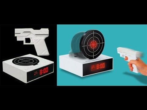 20 Creative Alarm Clocks Guaranteed To