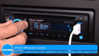 Sony MEX-GS610BT Display and Controls Demo | Crutchfield Video