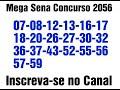 Mega Sena 2056 concurso