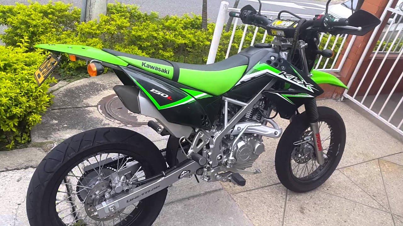 Kawasaki KLX L150 Supermotard Mod 2016