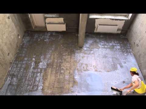 видео: Как выровнить основание слоем 2-30 мм. - Совет №8 от weber-vetonit.ru