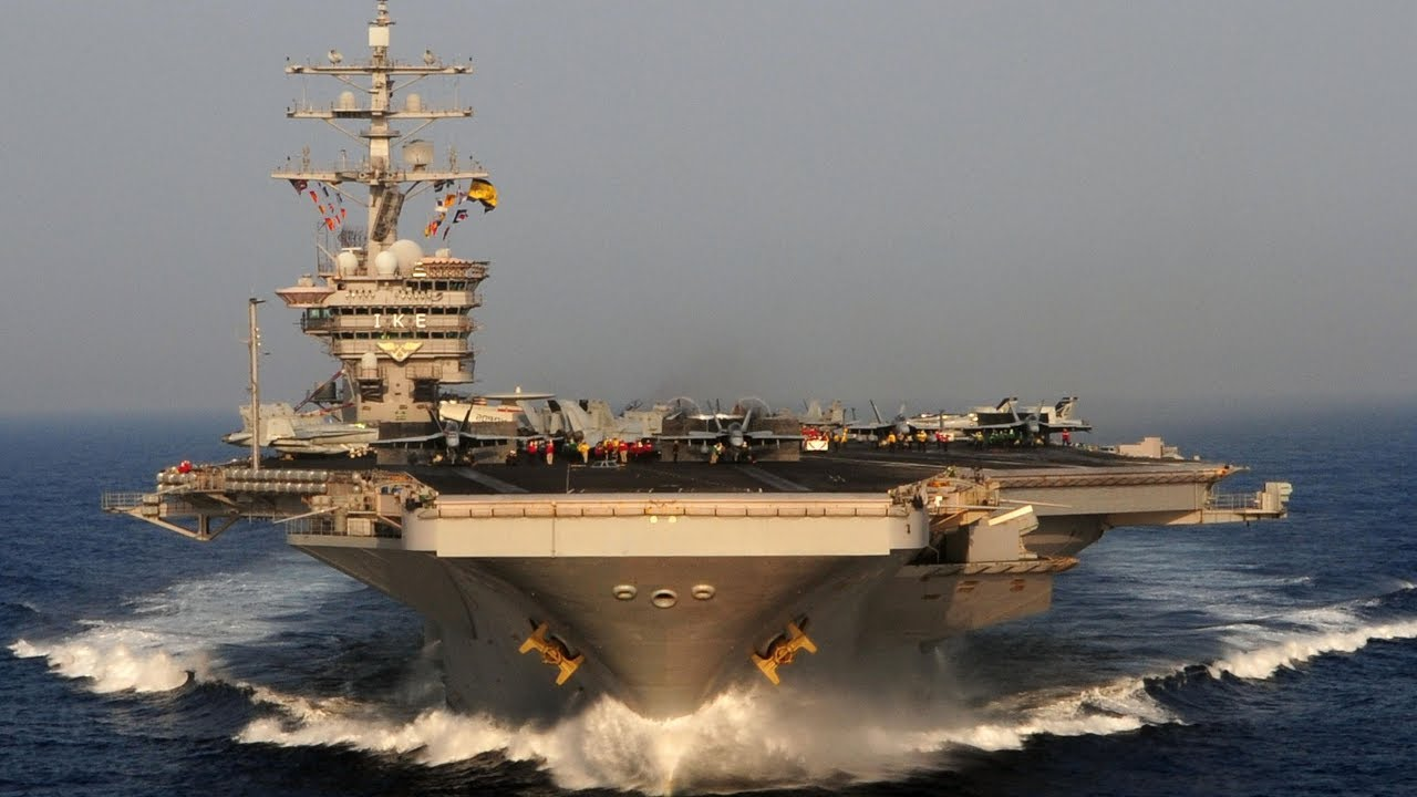 40 Years of USS Dwight D.  Eisenhower's Naval Service