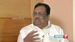 News7 Tamil with E. V. K. S. Elangovan