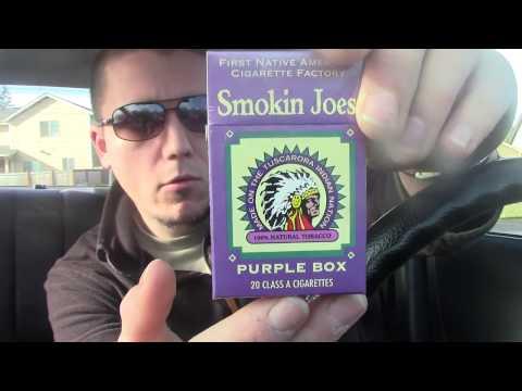 Best Cheap Quality Cigarette - Cig Review: Smokin Joes Full Flavor Kings (Purple Box)