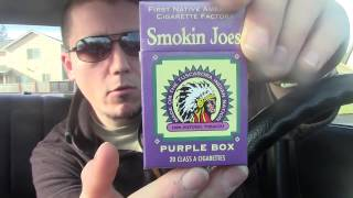 Best Cheap Quality Cigarette - Cig Review: Smokin Joes Full Flavor Kings (Purple Box)