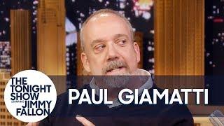 Jimmy Teaches Paul Giamatti How to Make Pickles Like Martha Stewart