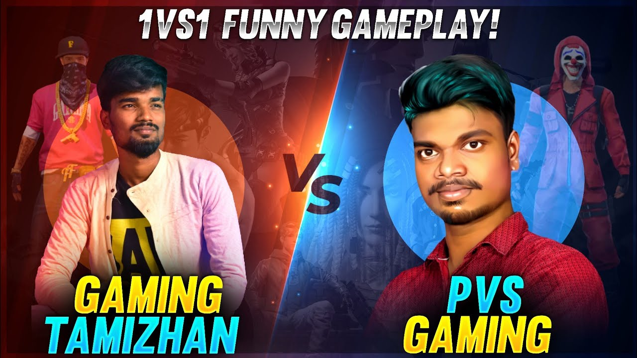 😡Tamilnadu 1st Time 😂 Gaming Tamizhan vs PVS GAMING😭 Funny Clash Squad One Tap Gameplay Challenge