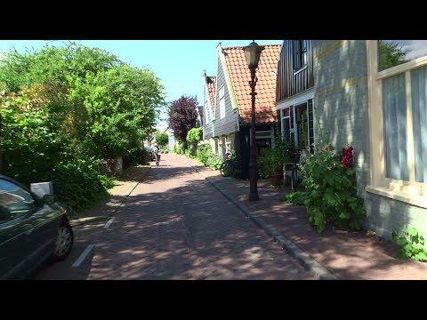 Bikecam Amsterdam: Nieuwendammerdijk tussen het sluisje en de Waddenweg