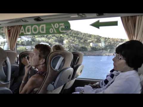 My Croatia Holiday Videos 2015  - 5,  Rab/Losinj  Island, Moving Islands