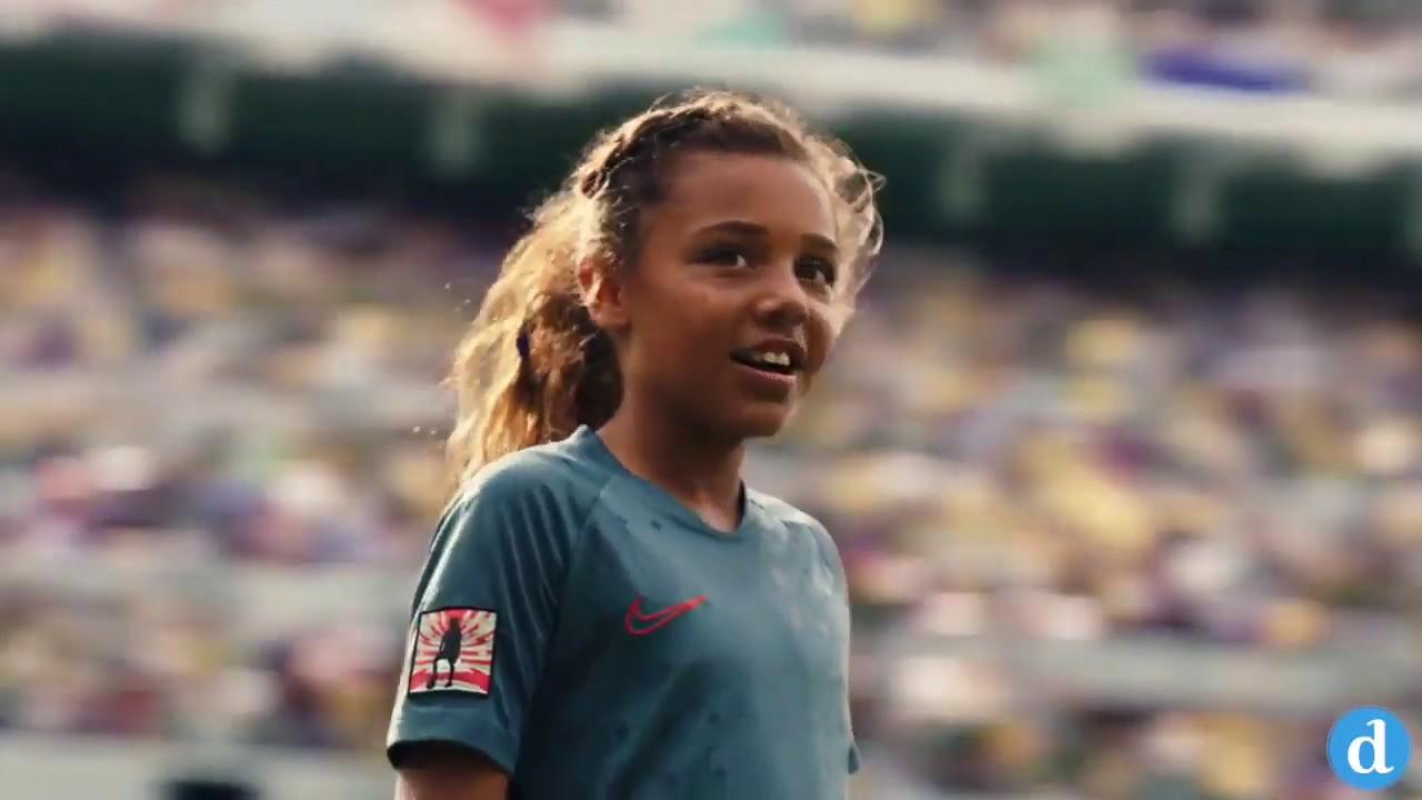 Detector Punto de referencia Palacio  Publicidad Nike 2019 - Dream Further - Mujeres Futbolistas - YouTube