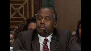 Sleepy Ben Carson Mistakes Foreclosure Term For Cookie