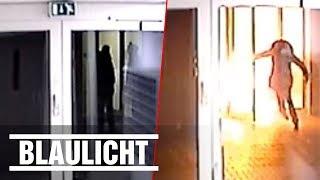 Polizei sucht nach Hotel-Brandstiftern - Mit Überwachungsbildern