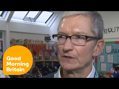 Apple CEO Tim Cook Says the UK Will Be 'Just Fine' After Brexit | Good Morning Britain