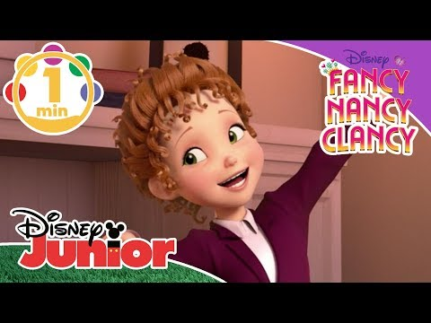 Fancy Nancy Clancy  Song - Sleepover Survival Kit 🎶   Disney Junior UK