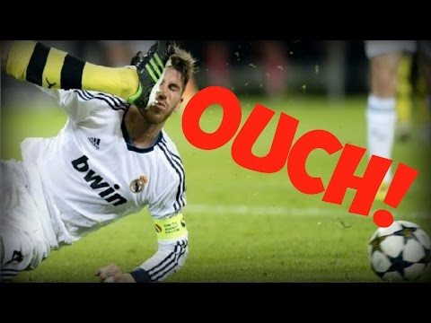 Top 10 Worst Tackles, Injuries And Fouls In Football - Crazy Funny Soccer Fails!